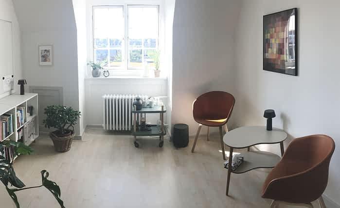 Psykolog Frederiksberg - Lise-Mette Holton - terapilokale